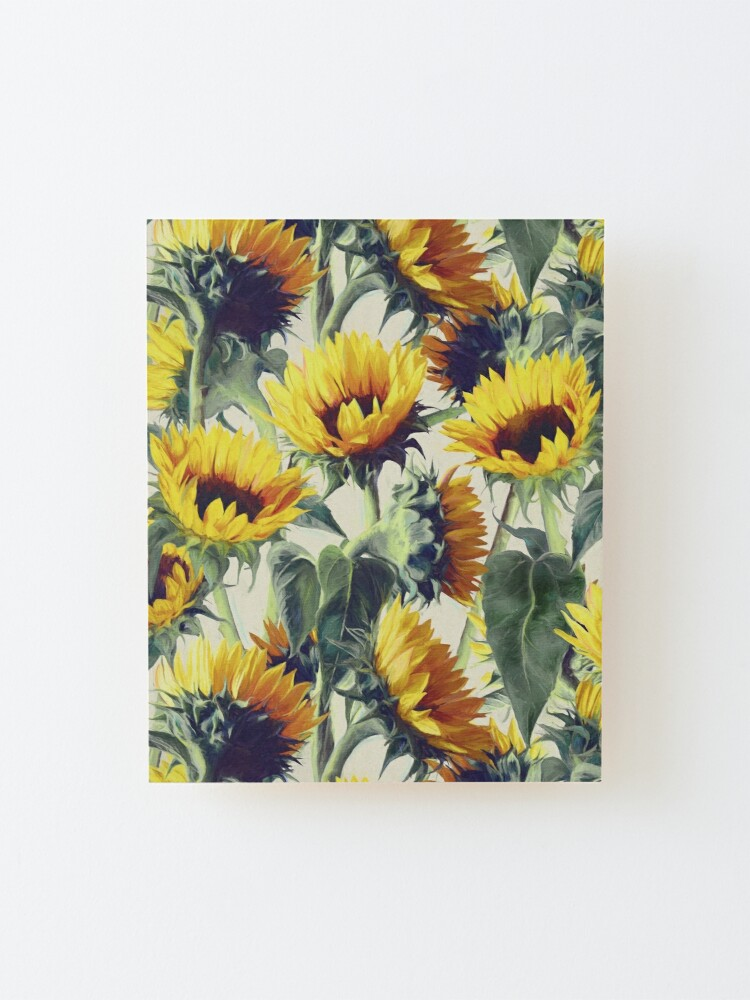 Alternate view of Sunflowers Forever Mounted Print