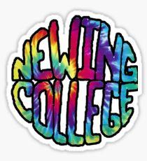 Newing College Sticker