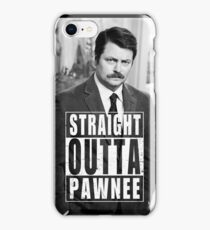 Striaght Outta Pawnee iPhone Case/Skin