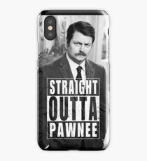 Striaght Outta Pawnee iPhone Case