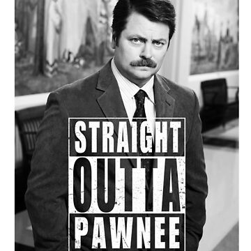 Striaght Outta Pawnee by Manoly