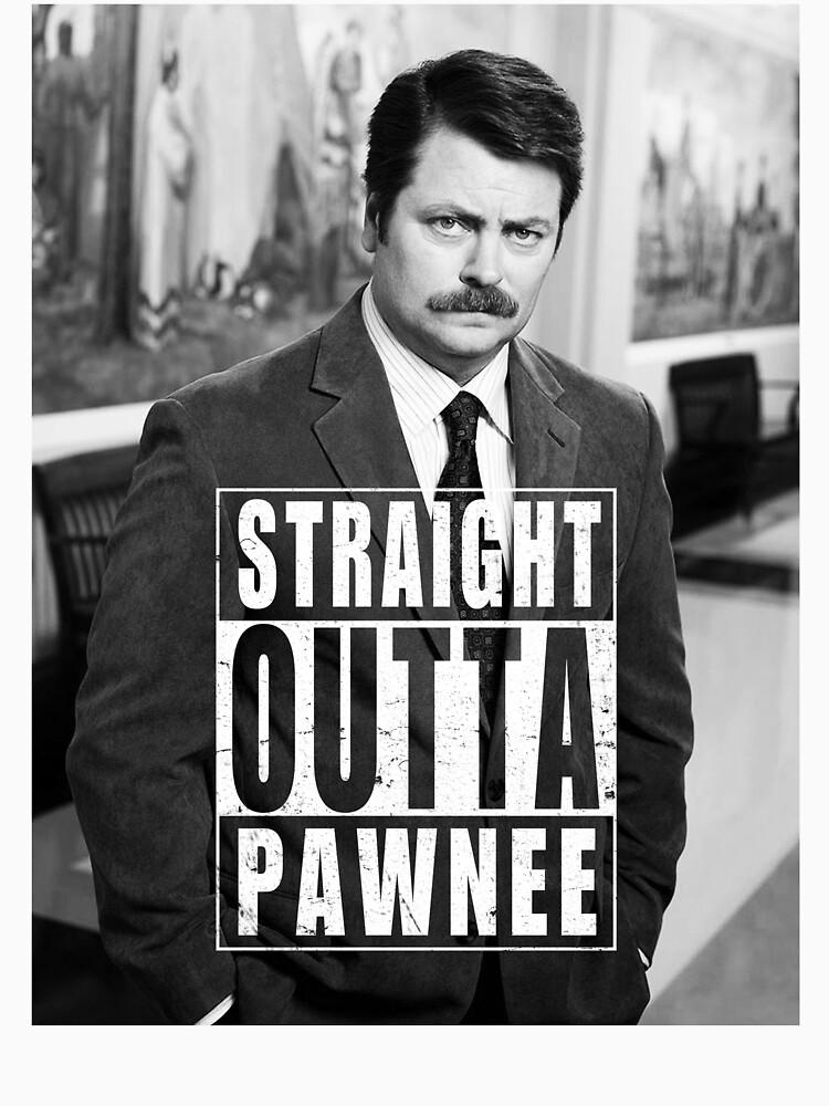 Striaght Outta Pawnee | Unisex T-Shirt