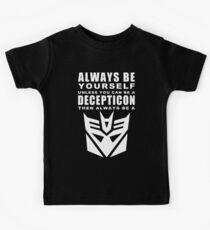 Always - Decepticon Kids Tee