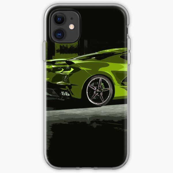 Chevrolet Corvette C8 iPhone Soft Case