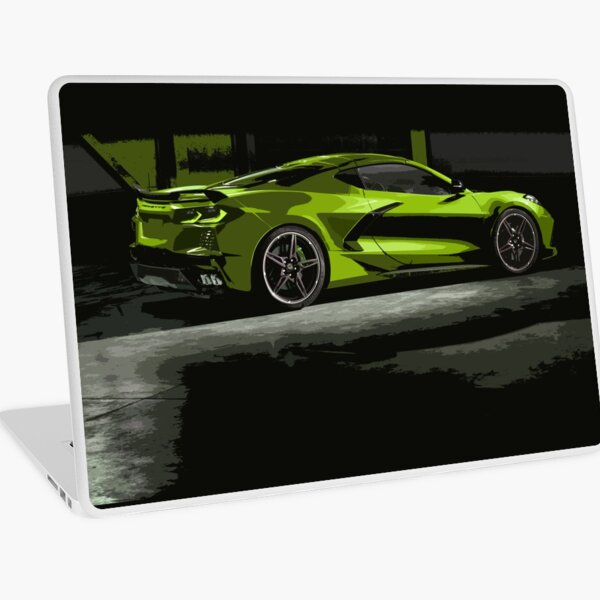 Chevrolet Corvette C8 Laptop Skin