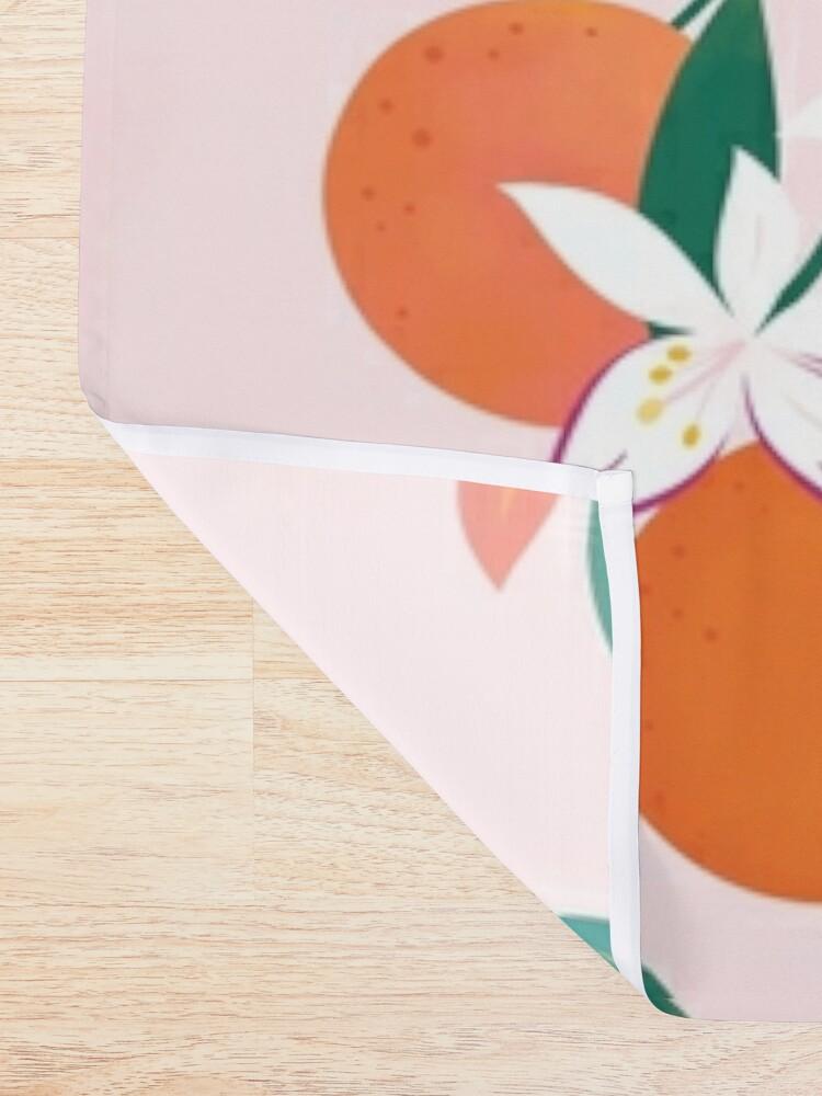 Alternate view of Orange Blossoms  Shower Curtain
