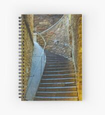 Vintage staircase in Bormes les Mimosas, FRANCE Spiral Notebook