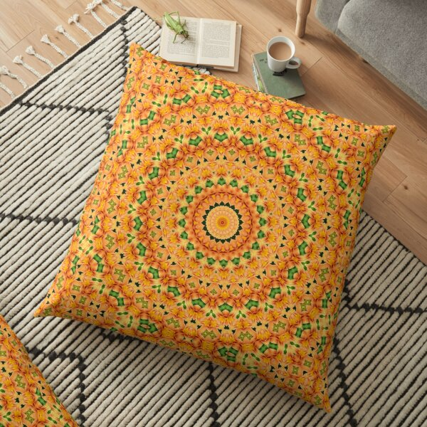 Flower Mandalal_MG_2221 Floor Pillow