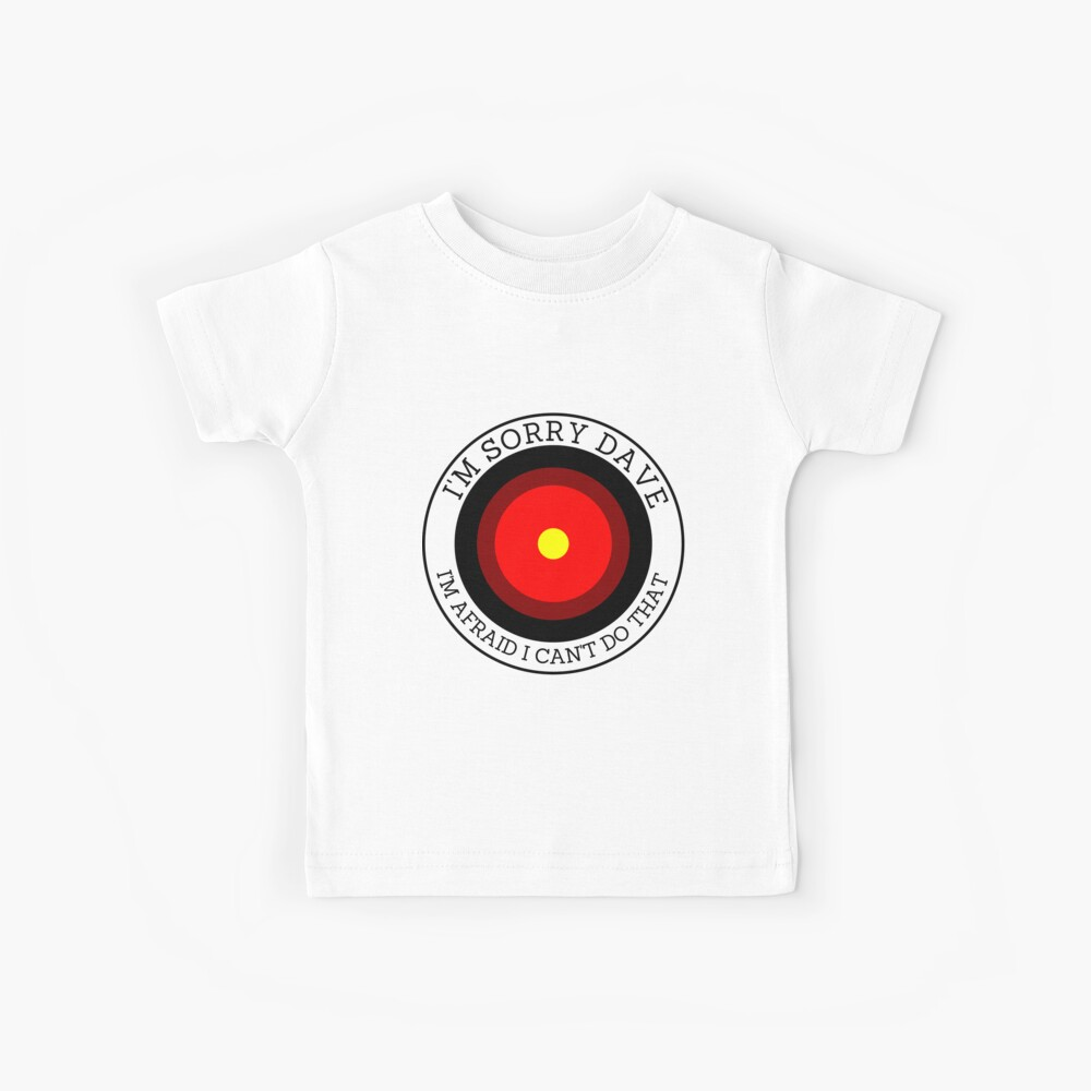 Ojo espacial Camiseta para niños