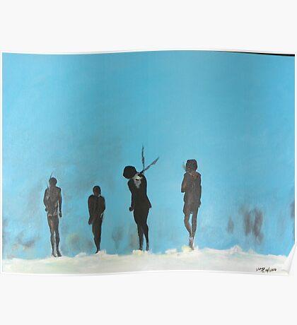 Stark Dark Figures Poster
