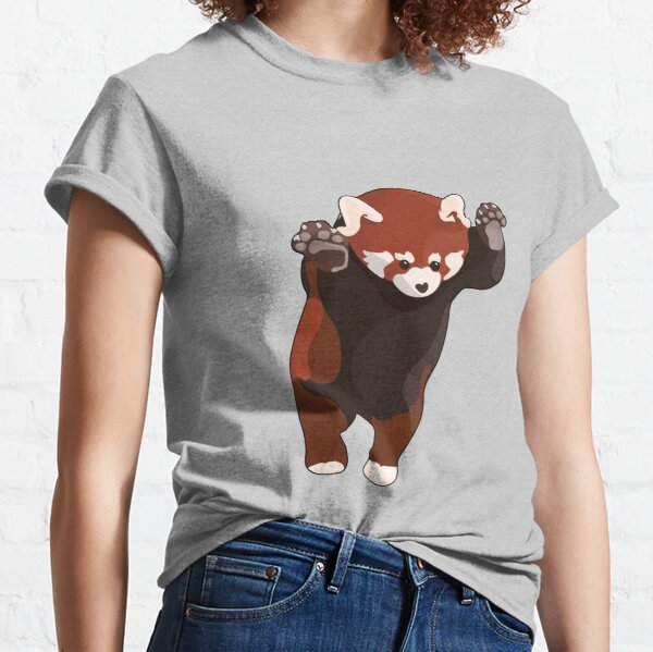 Red Panda Excited Classic T-Shirt