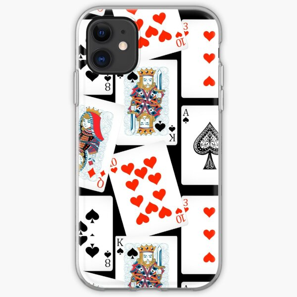 Playing cards iPhone Soft Case