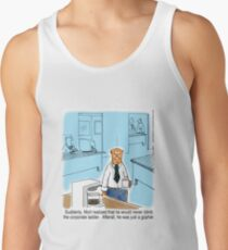 Just a Gopher - climb the corporate ladder? Tank Top