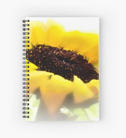 Summer is meant for sunflowers Spiral Notebook