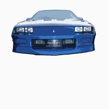 Blue Camaro by alastairc