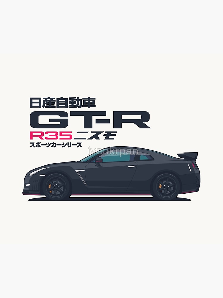 R35 GT-R Godzilla - Horz Black by ivankrpan