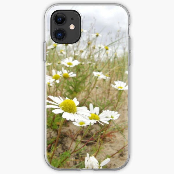 White n Yellow Lisfannon beach County Donegal Ireland iPhone Soft Case