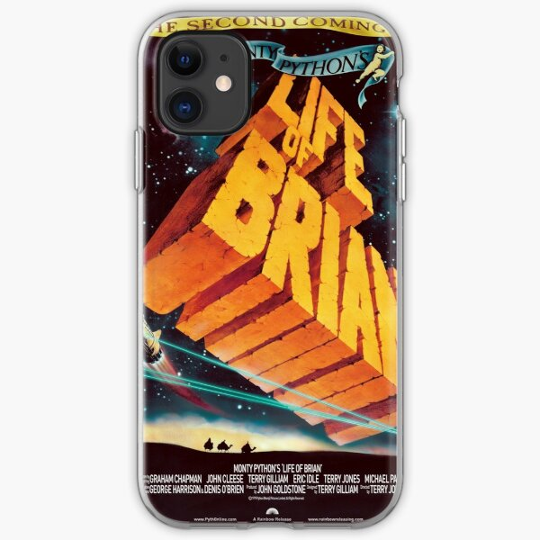 Life of Brian Movie Poster iPhone Soft Case