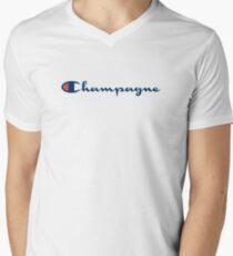Champagne champion V-Neck T-Shirt