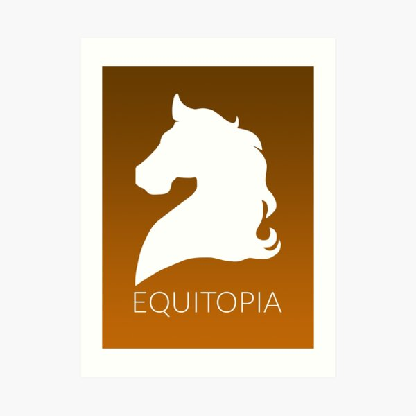 Equitopia Stylized Logo Art Print