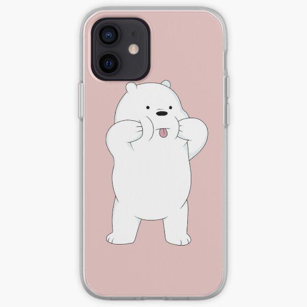 We Bare Bears - Ice Bear iPhone Soft Case