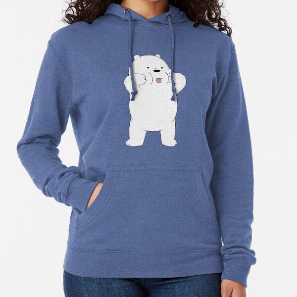 We Bare Bears - Ice Bear Lightweight Hoodie