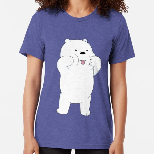 Thrift Apparel We Bare Bears Casual T-Shirt Men Women Short Sleeve