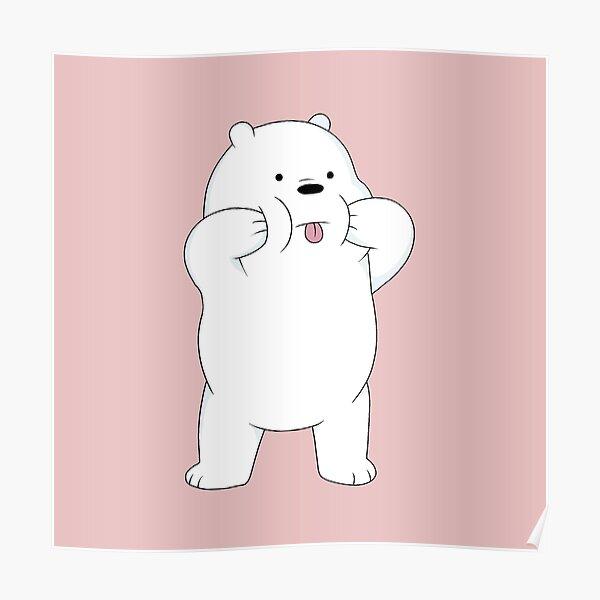 We Bare Bears - Ice Bear Poster