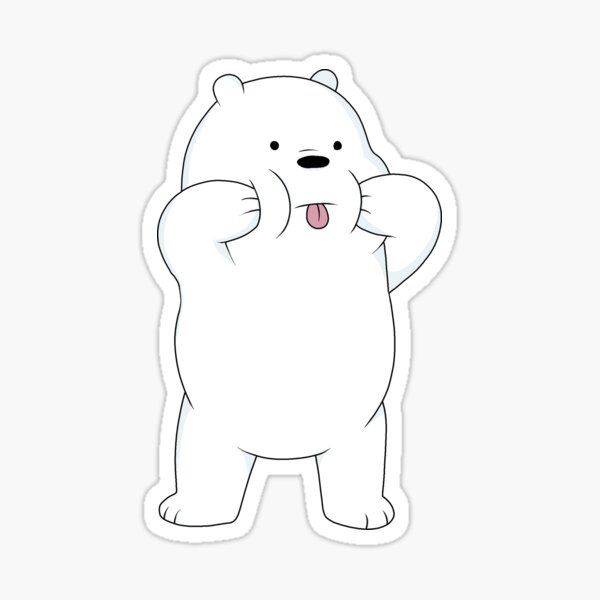 We Bare Bears - Oso de hielo Pegatina
