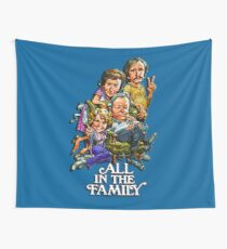 All In The Family Wall Tapestry