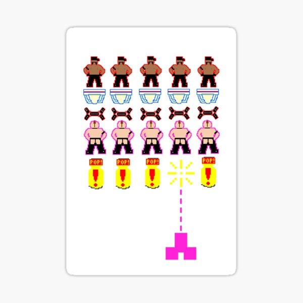 Space Ingayders aka Gay Space Invaders Sticker
