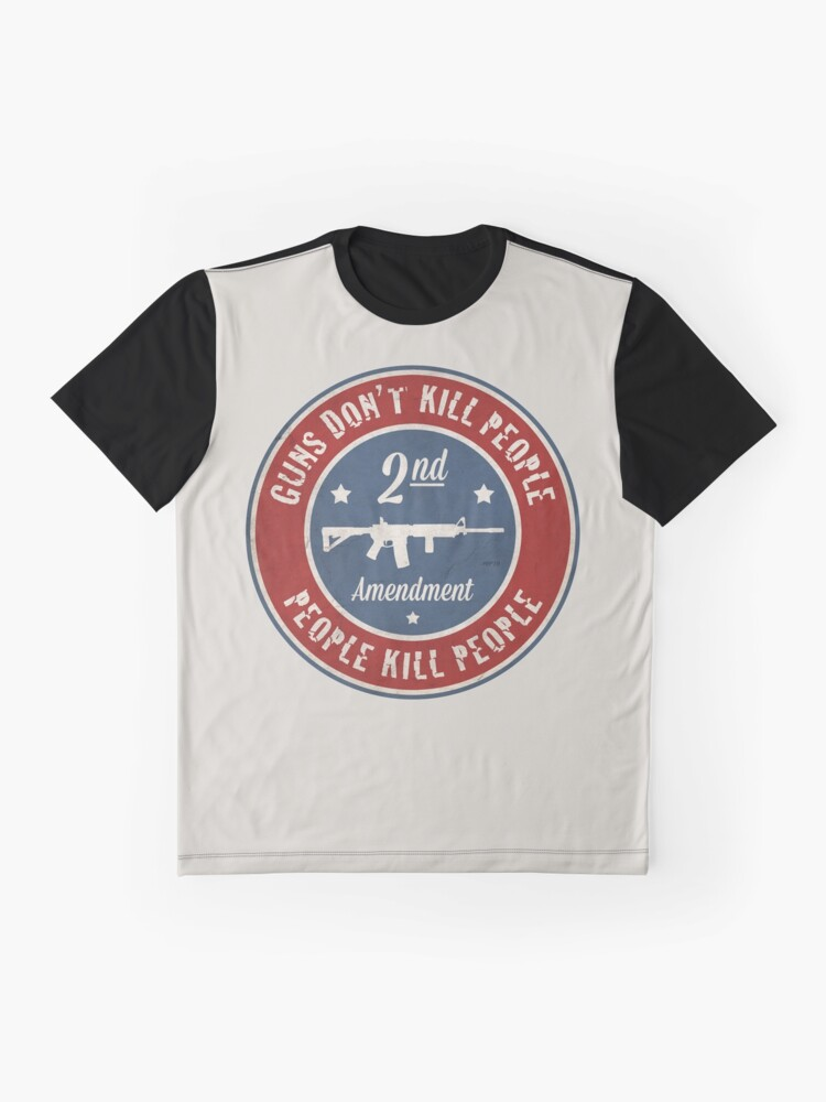 Alternate view of Second Amendment Graphic T-Shirt