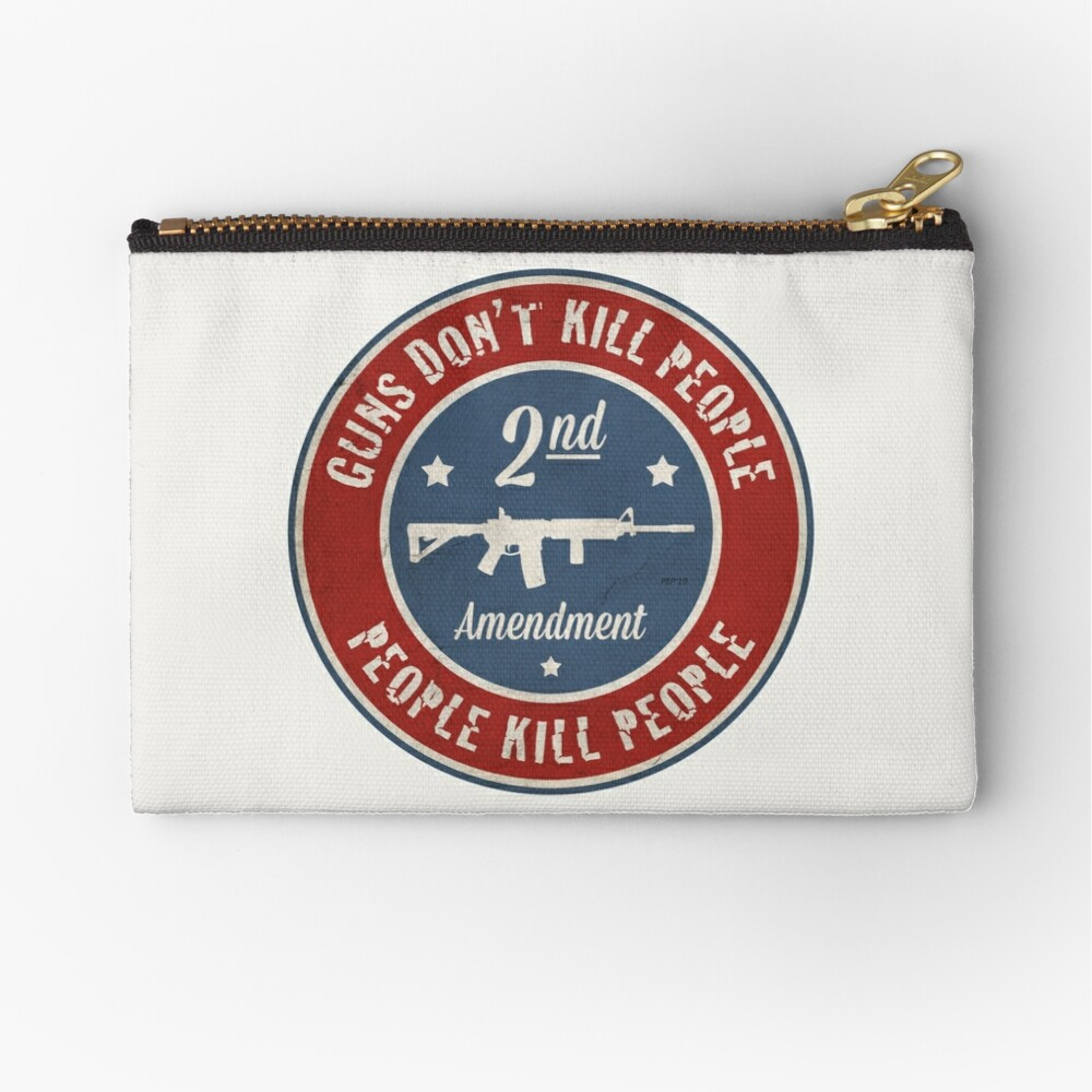 Second Amendment Zipper Pouch