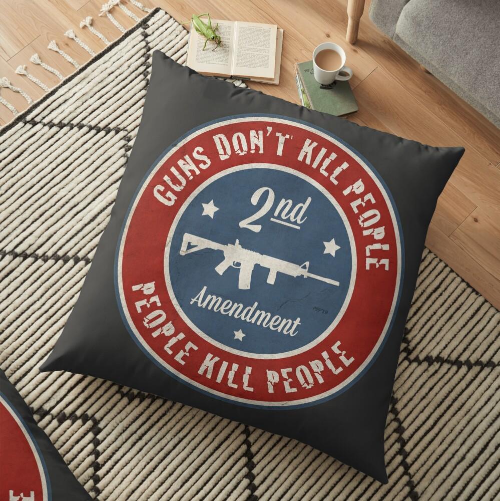 Second Amendment Floor Pillow