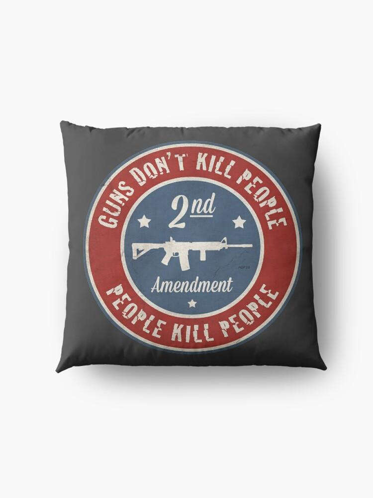 Alternate view of Second Amendment Floor Pillow