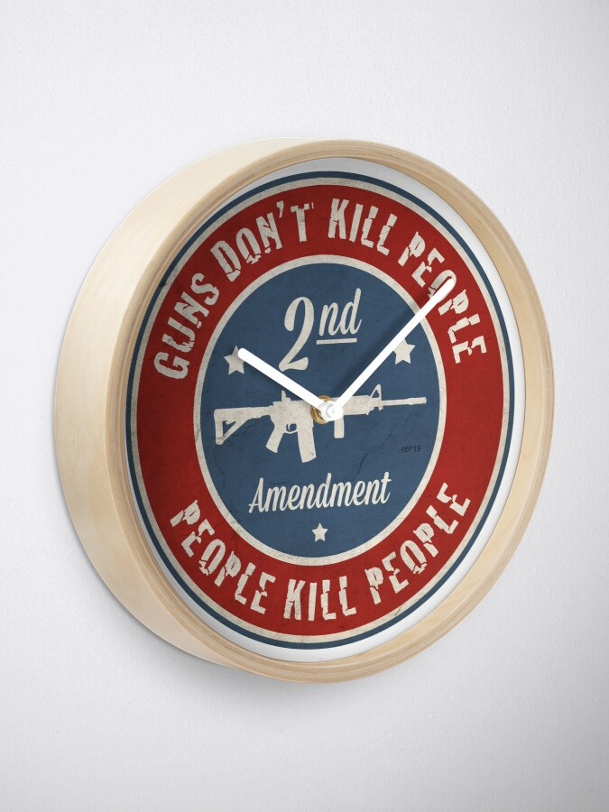 Alternate view of Second Amendment Clock