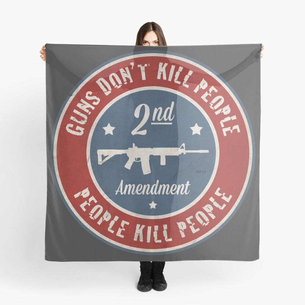 Second Amendment Scarf
