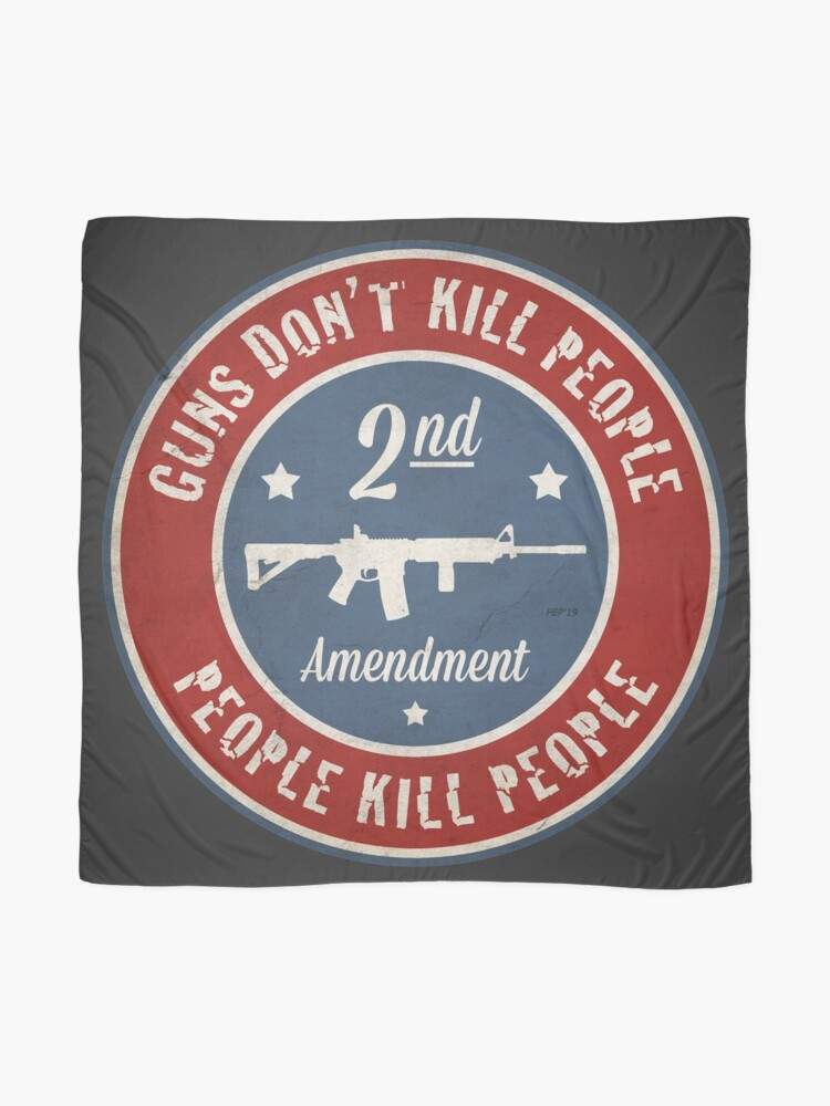 Alternate view of Second Amendment Scarf