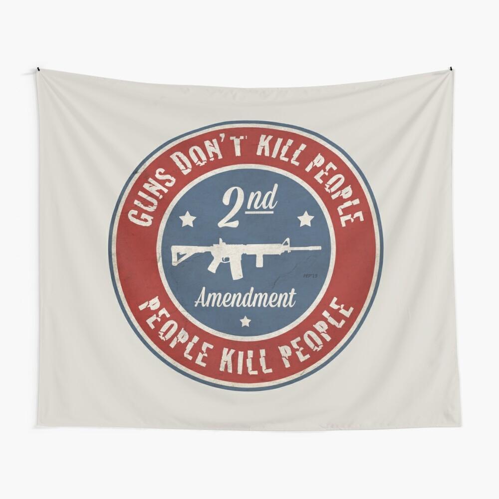 Second Amendment Wall Tapestry