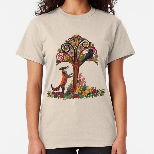 fox and crow Classic T-Shirt