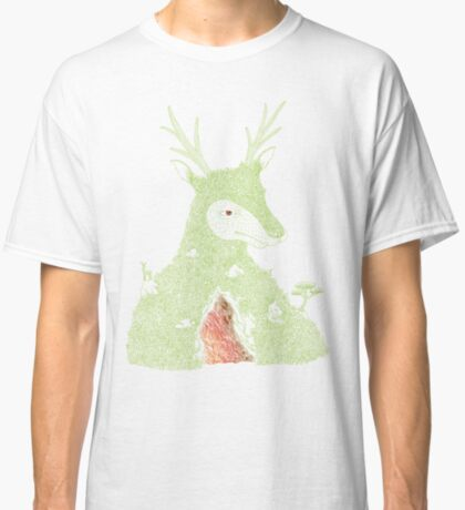 Stag at the Heart of the Mountain Classic T-Shirt
