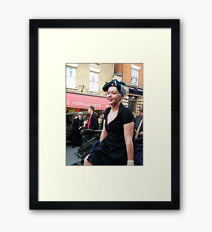 War Weekend at Pickering UK 19 Framed Print