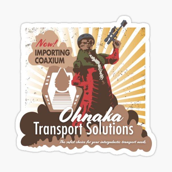 Hondo Ohnaka Transport Solutions Sticker