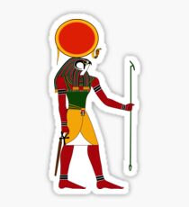 Ra or Re Version 2 | Egyptian Gods, Goddesses, and Deities Sticker