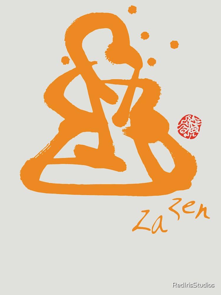 Za Zen - Orange Awakening by RedIrisStudios