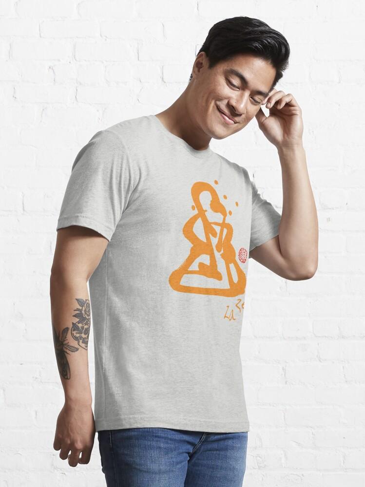 Alternate view of Za Zen - Orange Awakening Essential T-Shirt