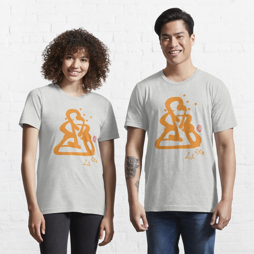 Za Zen - Orange Awakening Essential T-Shirt
