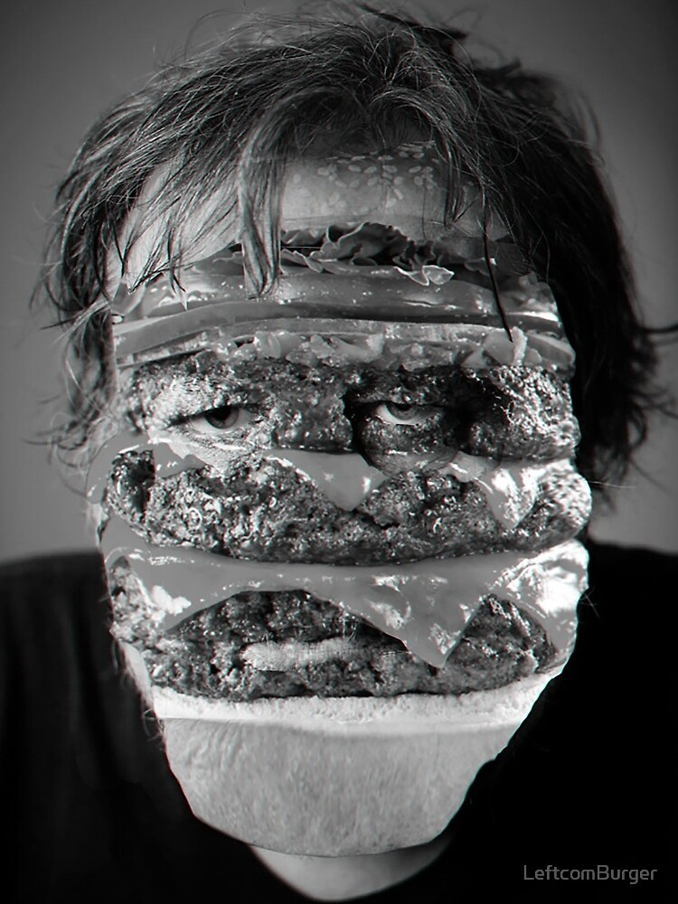 Zizek Burger by LeftcomBurger