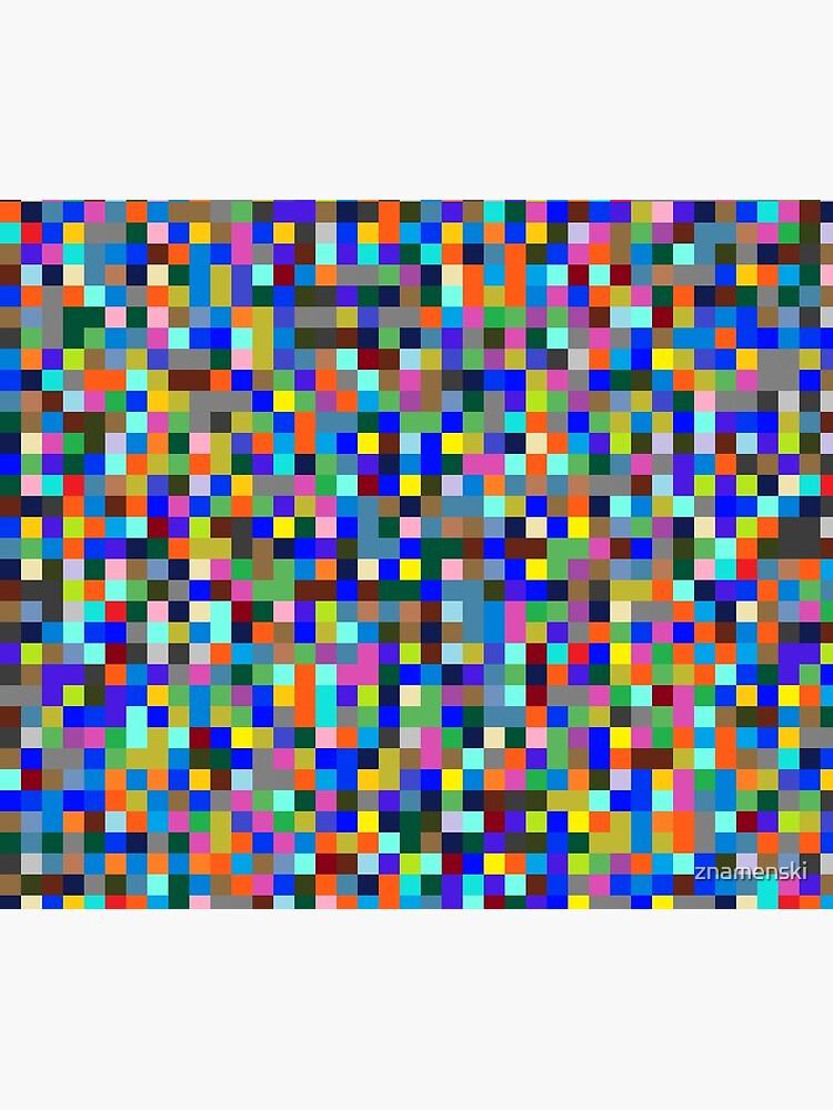 #Design, #pattern, #illustration, #art, abstract, square, pixel, color image by znamenski