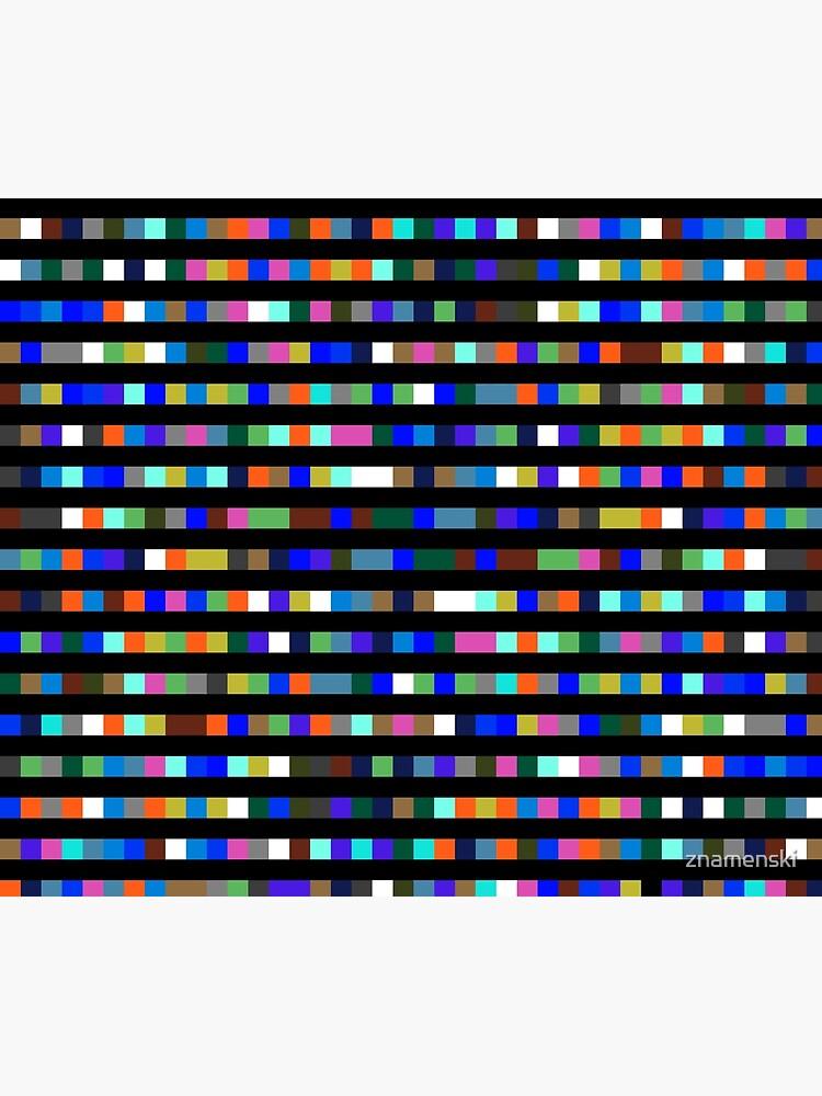 #Design, #abstract, #square, #pixel, art, pattern, illustration, vector, shade, tile, color image by znamenski